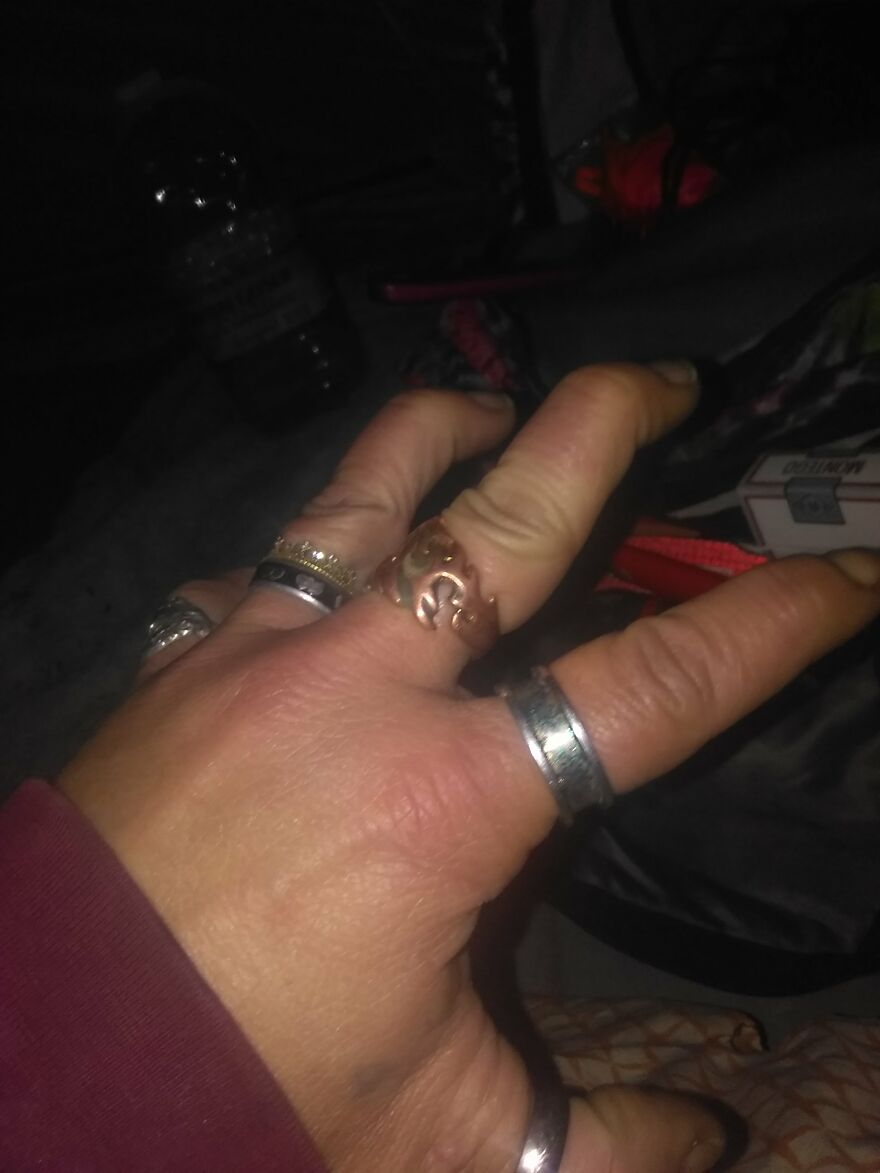 Sucking My Knuckles In