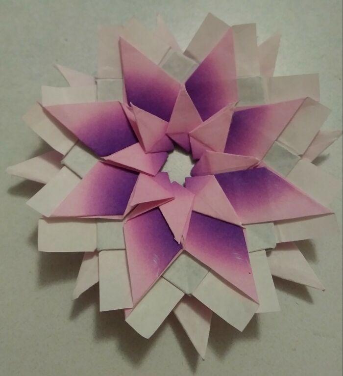 Origami Mandela Flower