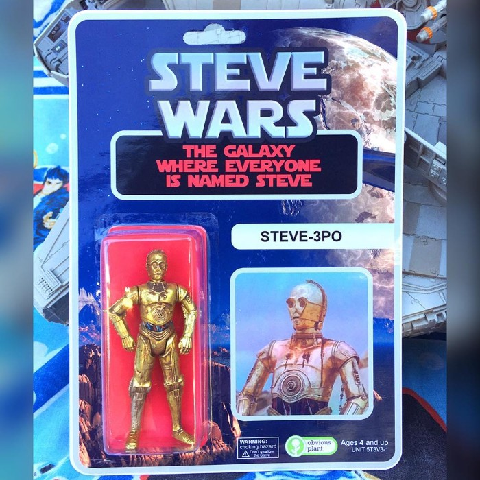 Of All The Names, You Chose Steve