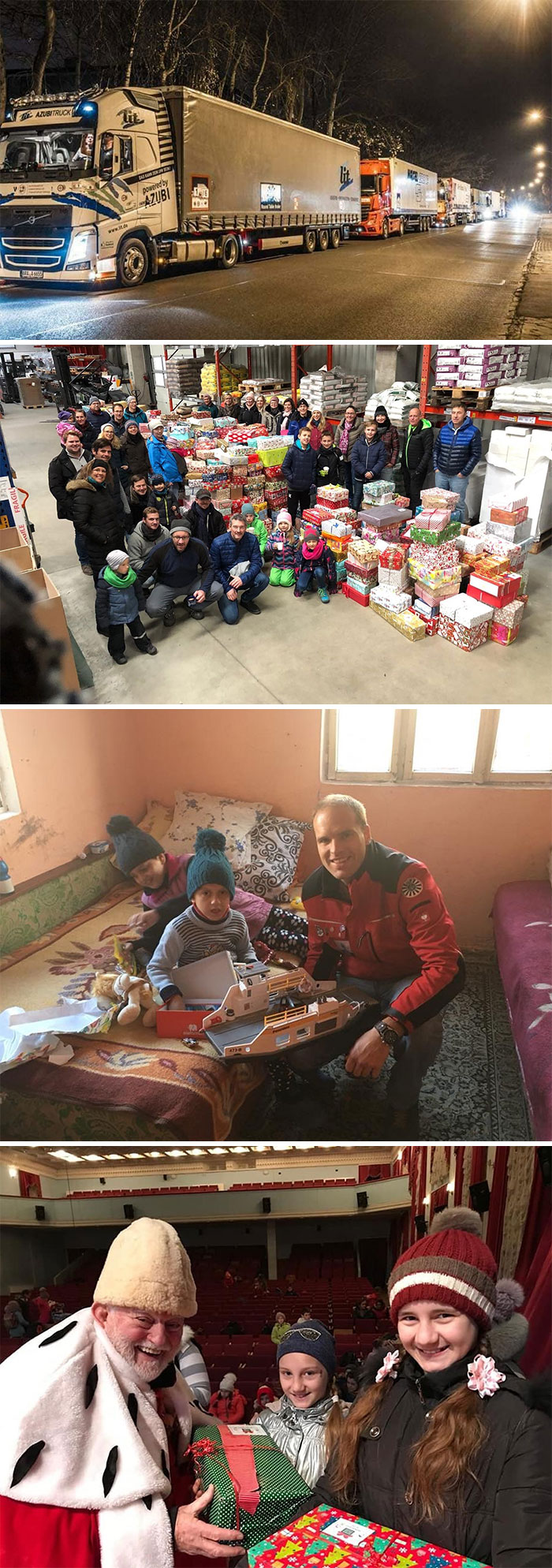 Christmas Gift Convoy: Follow Up With More Stories About The 156,237 Packages We Brought To Kids In Eastern Europe