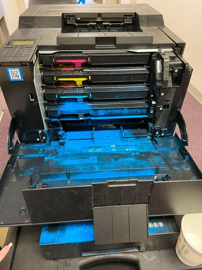 Hay un problema con la impresora