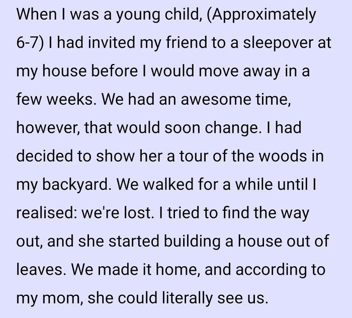 Oh No, We're Lost
