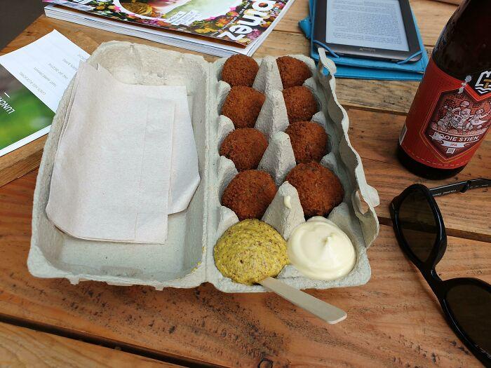 Eggcelent Fried Bitterballen