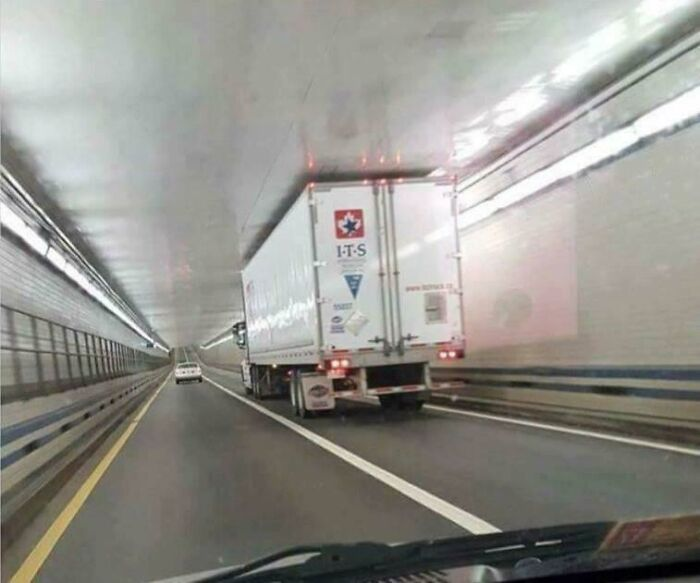 This Truck In A Tunnel