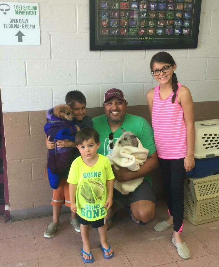 After 6 Years Away From Family, Corky Returns Home