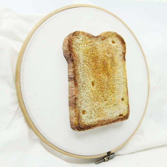 Embroidery Toast