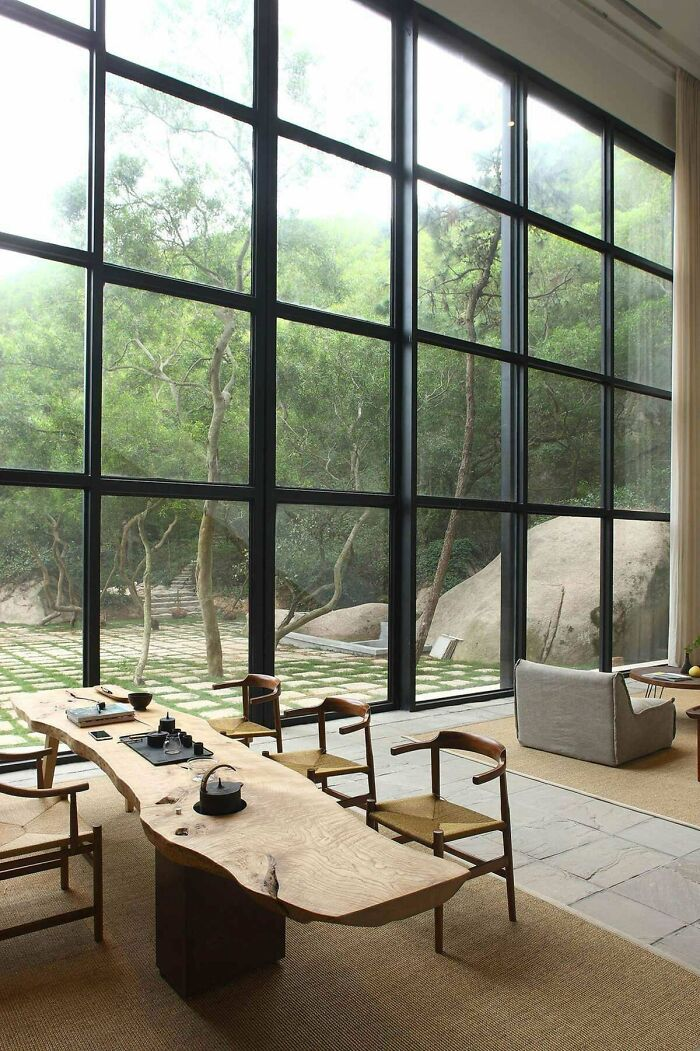 Serene Tea Room In China
