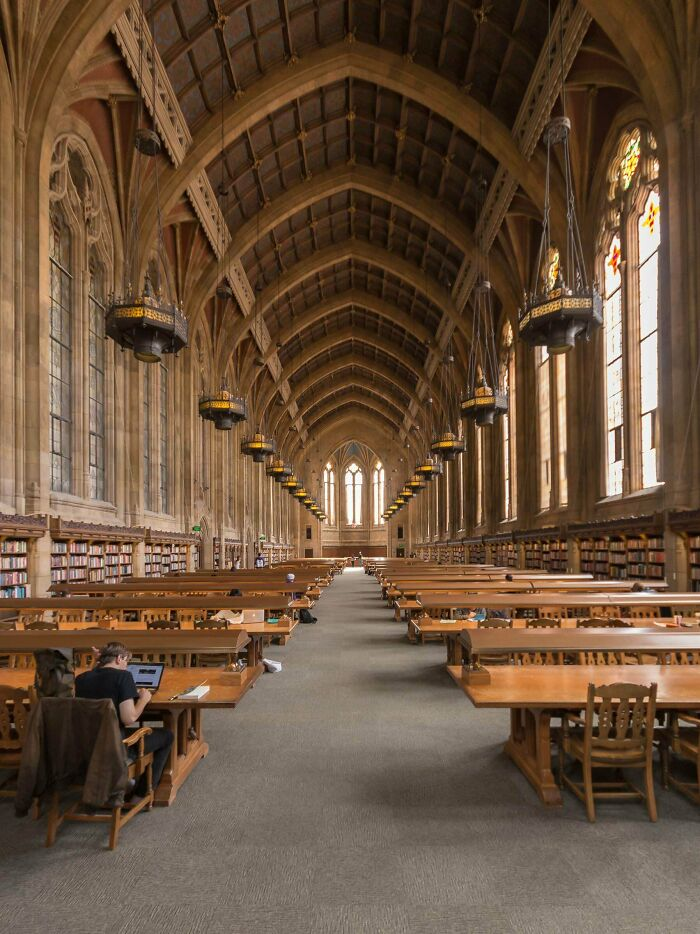 The Suzzallo Graduate Reading Room At The University Of Washington, Seattle