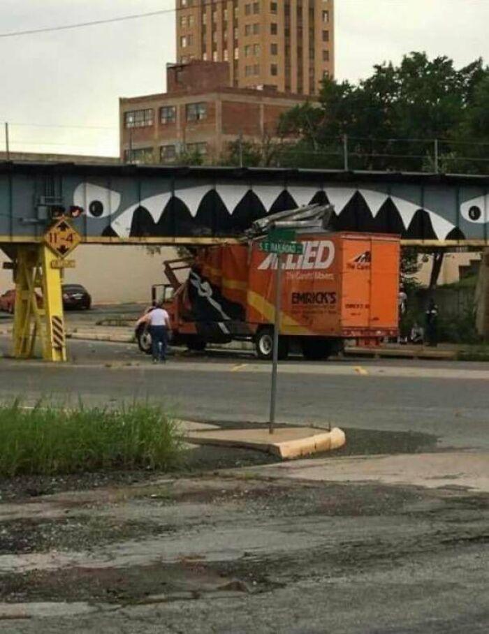 Hungry Bridge In Enid, Oklahoma