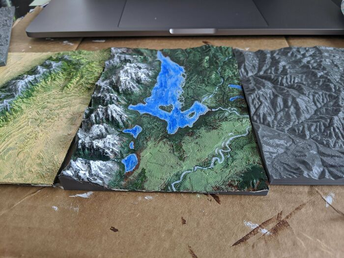 New Hobby Of Printing Terrains And Painting Them
