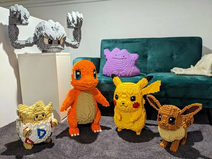 My Growing Collection Of Pokemon I've Built Out Of LEGO