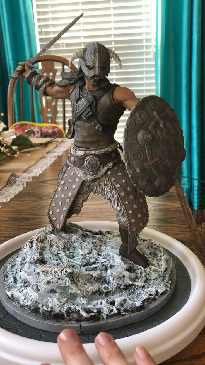 My Hobby Is 3D Printing, Painting, And Assembling These Kinda Statues