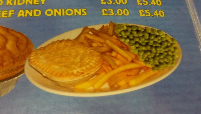 The Peas Are Upside Down