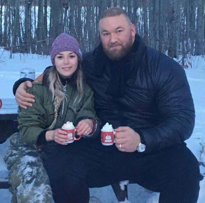 Hafþór Björnsson (Got The Mountain) Holding A Regular Mug
