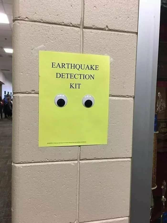 Earthquake Detection Kit