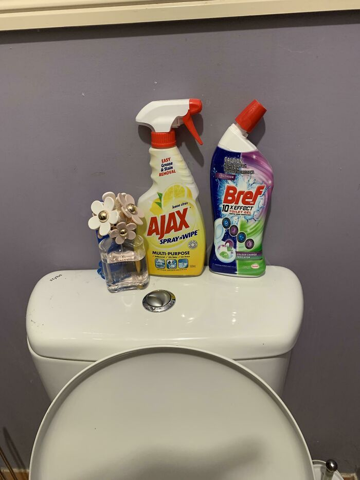 When The Perfume You Bought Your Wife For Christmas Ends Up In The Toilet As 'Air Freshener'