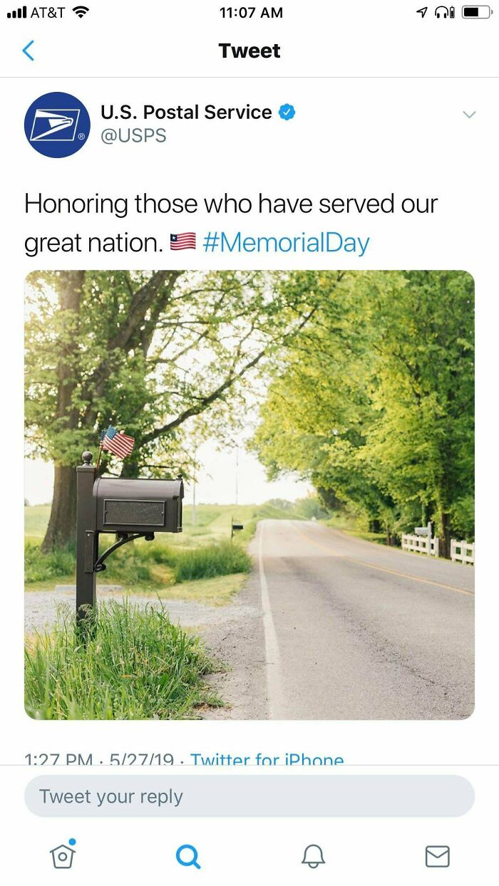 USPS Paying Their Respects To All The Liberian Soldiers Who Lost Their Lives This Memorial Day