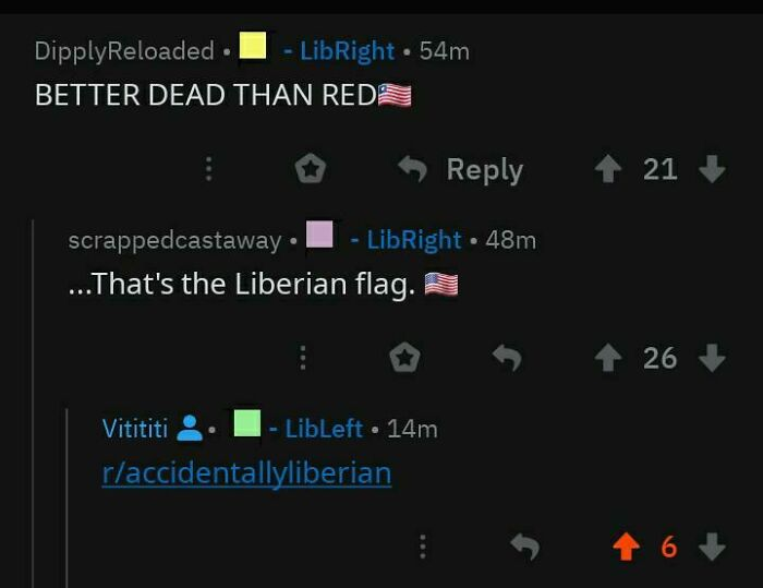 Liberians Will Never Fall To Communism!