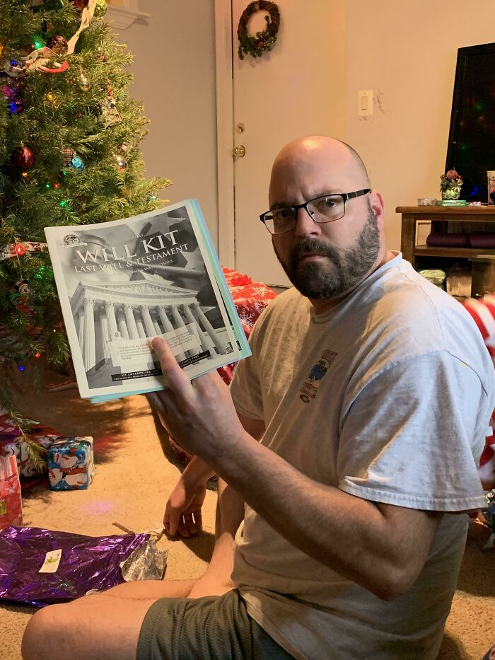 Dad's Christmas Hasn't Been Very Merry