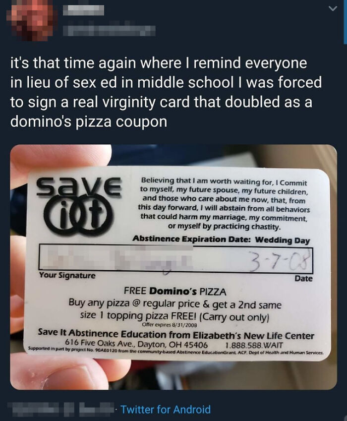 Domino's Or Sex?