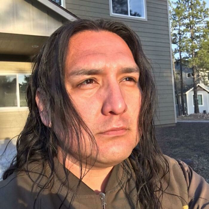 I Started Growing 7 Years Ago When My Son Was Born. From Getting A Military Cut Every Week To Finally Looking Like A Real Native Again. It's Been A Journey To Say The Least