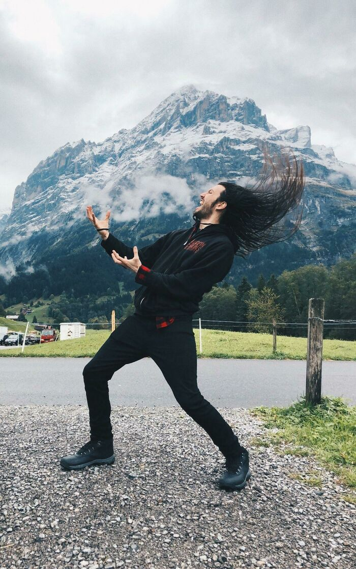 Screaming To The Mountain Gods In Switzerland A Few Months Back