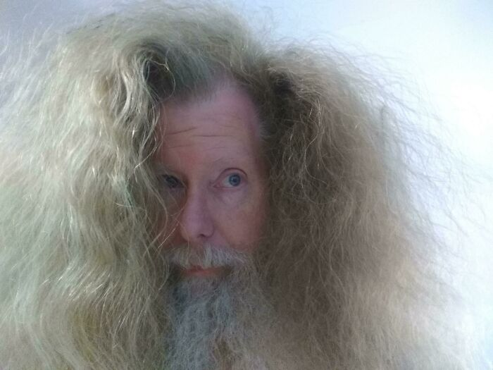 Comb My Hair, They Said. It'll Be Fun, They Said!