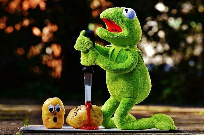 Kermit Sacrifices A Potato?