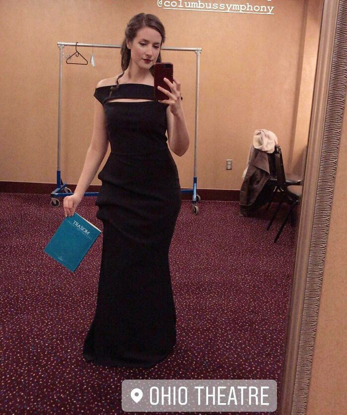 I'm An Opera Singer. Guess Who Found This $1000 Chiara Boni Gown For $15 At Salvation Army