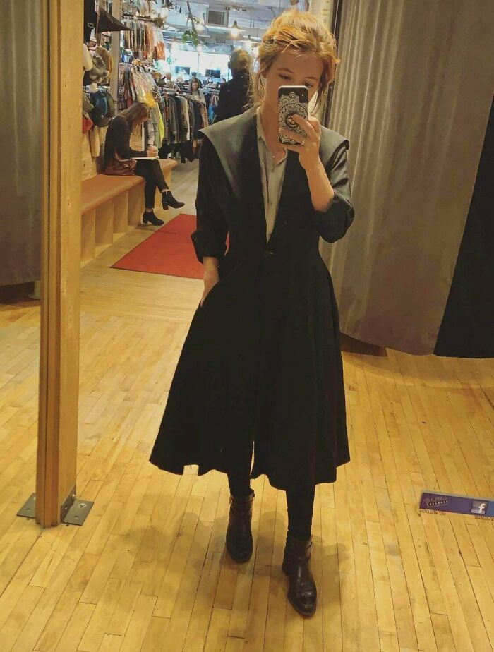 Picked Up This Witchy 1940s Era Coat Today For $20