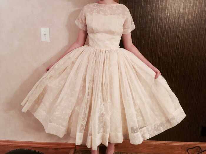 Probably My Favorite Purchase Ever! $3 Vintage Wedding Dress