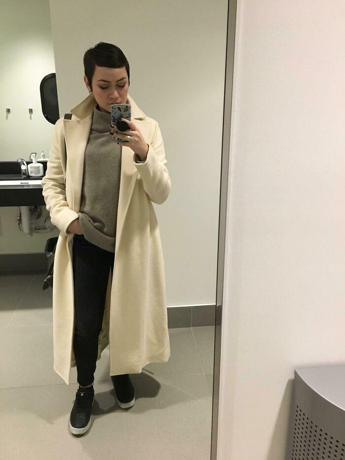 Full Length 100% Wool Ralph Lauren Coat For $12