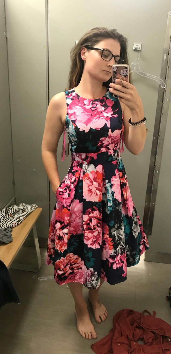 I Found This Dress For An Upcoming Wedding. The Tags Were Still On And It Has Pockets