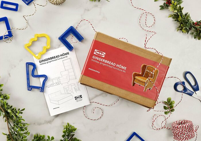 IKEA Releases Flat-Pack Gingerbread Höme Furnishings Equipment