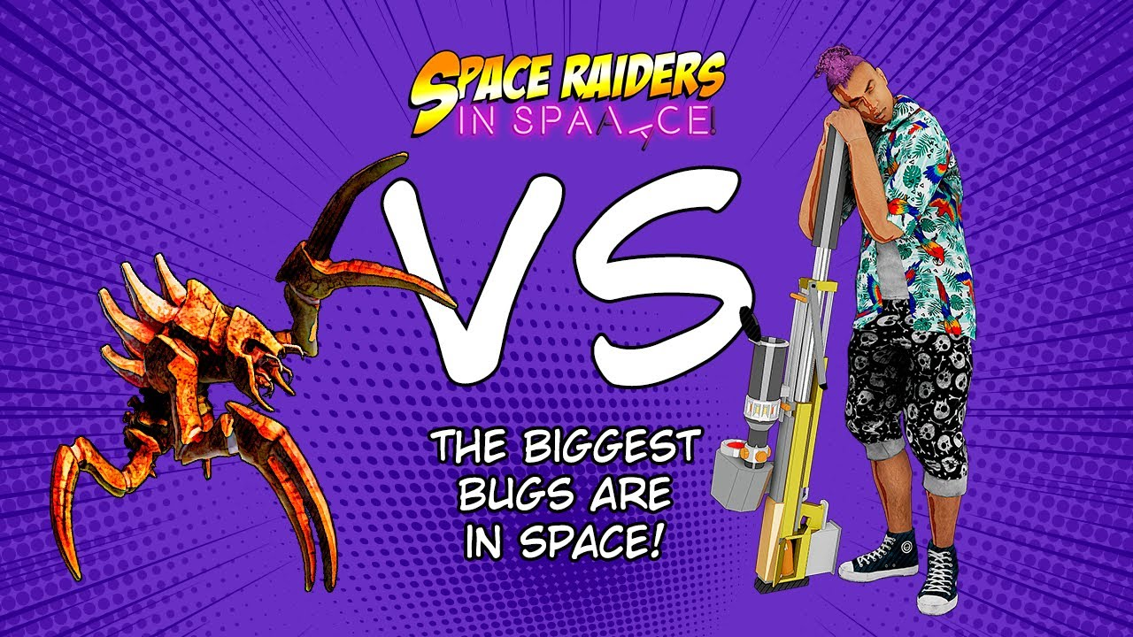 Friends Released Their Very First Game Yesterday! They Made The Story And Art By Themselves! Space Raiders In Space Is A Wave Defense Game With An Interactive Comic Book In It. You Unlock The Chapters While Playing The Story Mode In The Game.