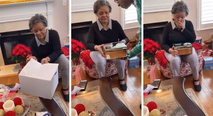 """My Grandpa Passed 7 Months Ago So This Is My Grandma's 1st Xmas Without Him In 59 Years. For Christmas We Decided To Gift Her With Letters We Found Her & My Grandpa Wrote To Each Other In 1962 While They Were In College. He Kept Them All These Years"""