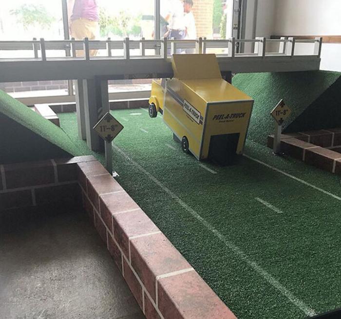"New Mini Golf In Durham Honors It's Famous 11'8"" Bridge"