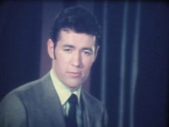 We Bid Farewell To Many Celebrities In 2020, Including Alex Trebek. Here's A 16mm Film Grab Of Alex Calling Bingo In Canada In The Early 1960s