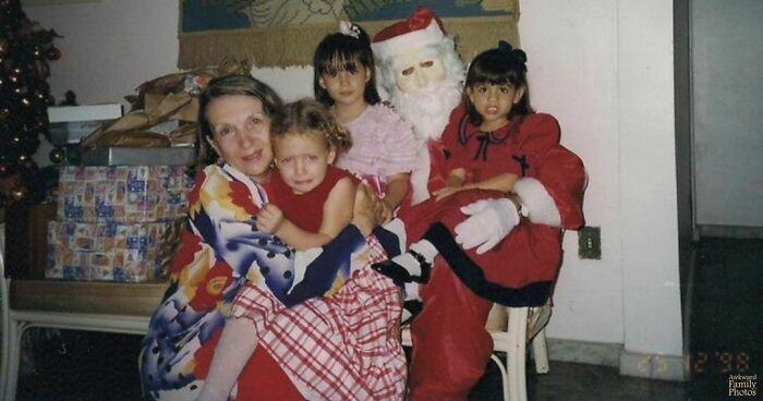 Navidad 1998. Soy la que llora