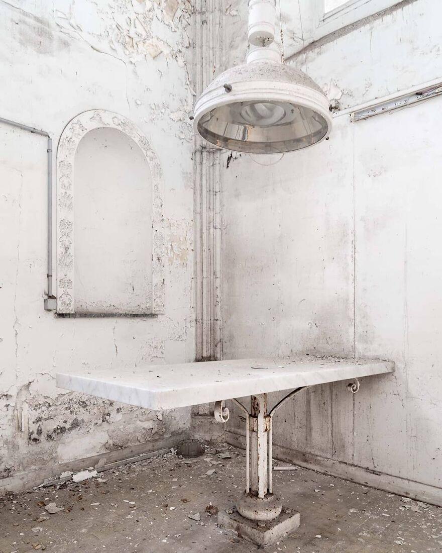 Abandoned Epilogue Morgue, Belgium