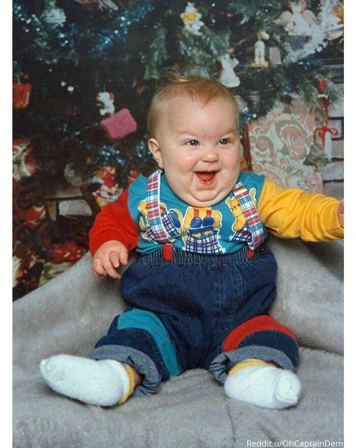 Esta es mi única foto de bebé, no sé por qué