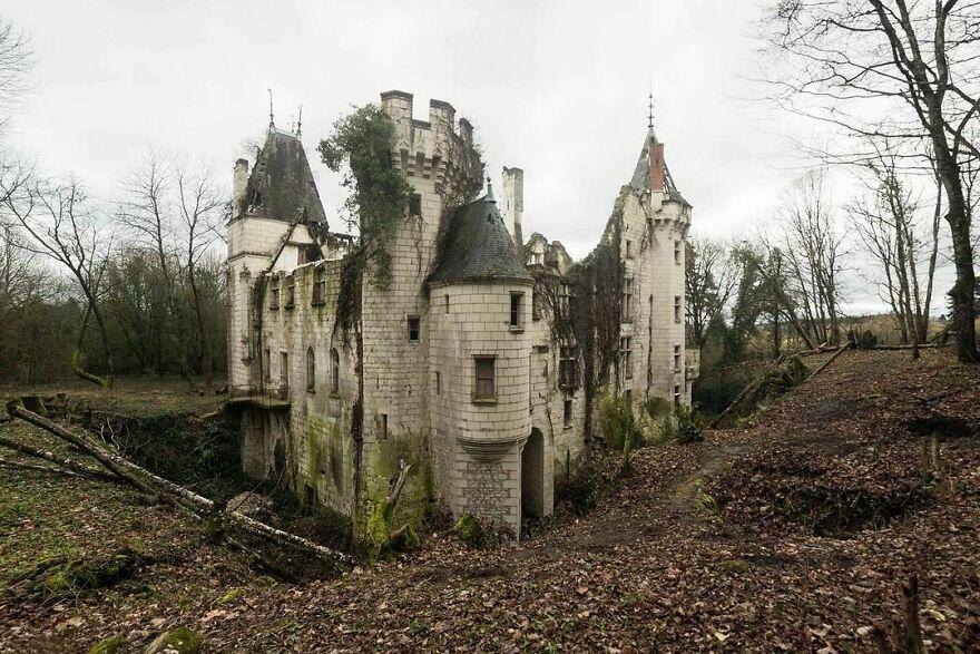 Abandoned Castle, France