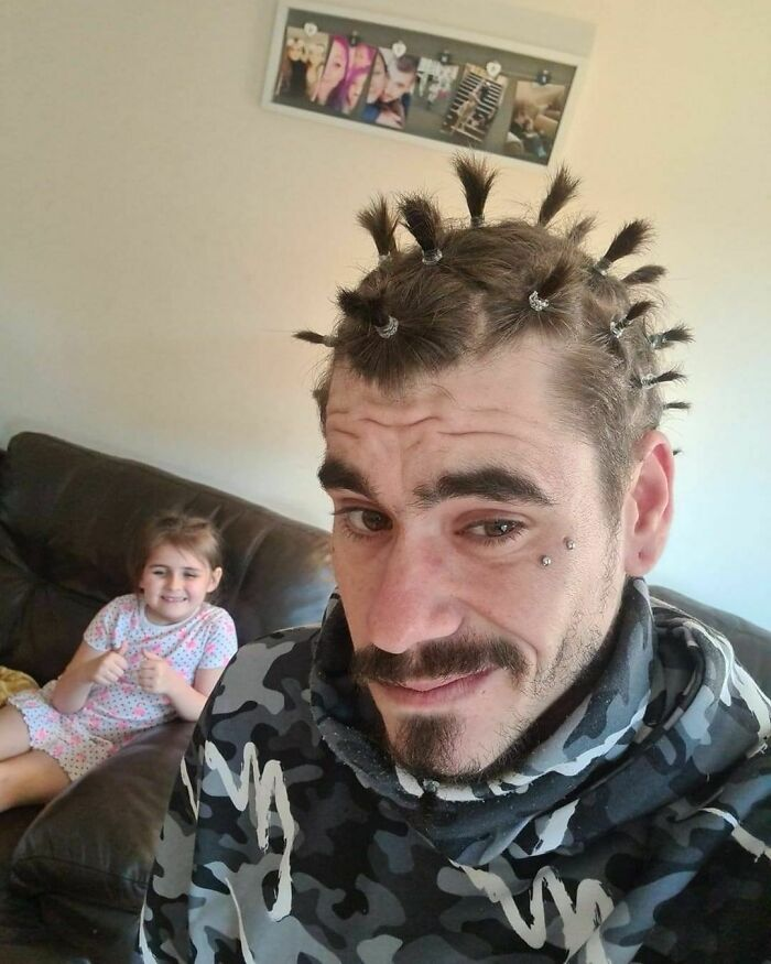 My Step Daughter Was Asking To 'Do My Hair'. Regretting It A Bit Now