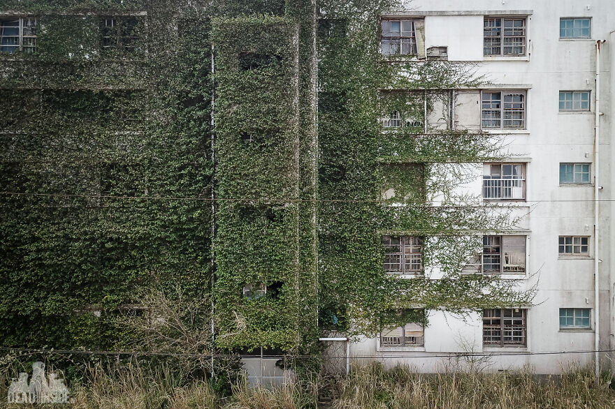 Arround Abandoned Ghost Island - Ikeshima, Japan