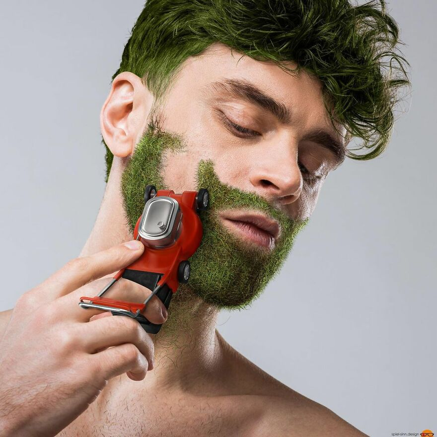 Digital Artist Makes Amazing Image Edits Using Animals, Fruits And Vegetables (120 Pics)