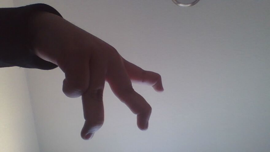 This Is My Hidden Talents And When I Was Doing This There Was Like A Dot On My Finger