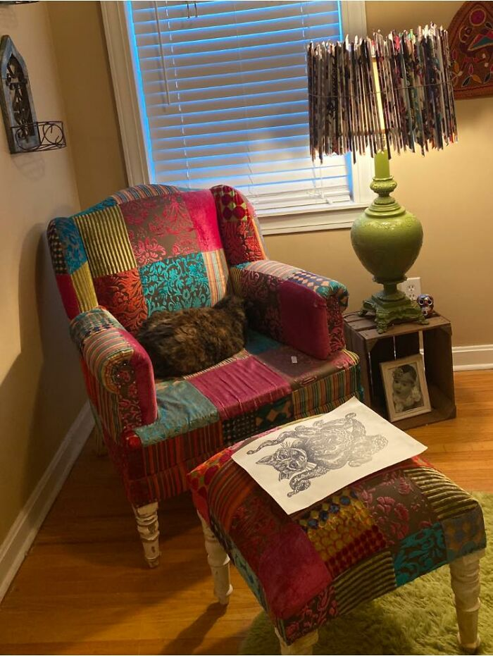 Probably The Coolest Chair I Have Ever Purchased! Twenty Bucks At A Yard Sale