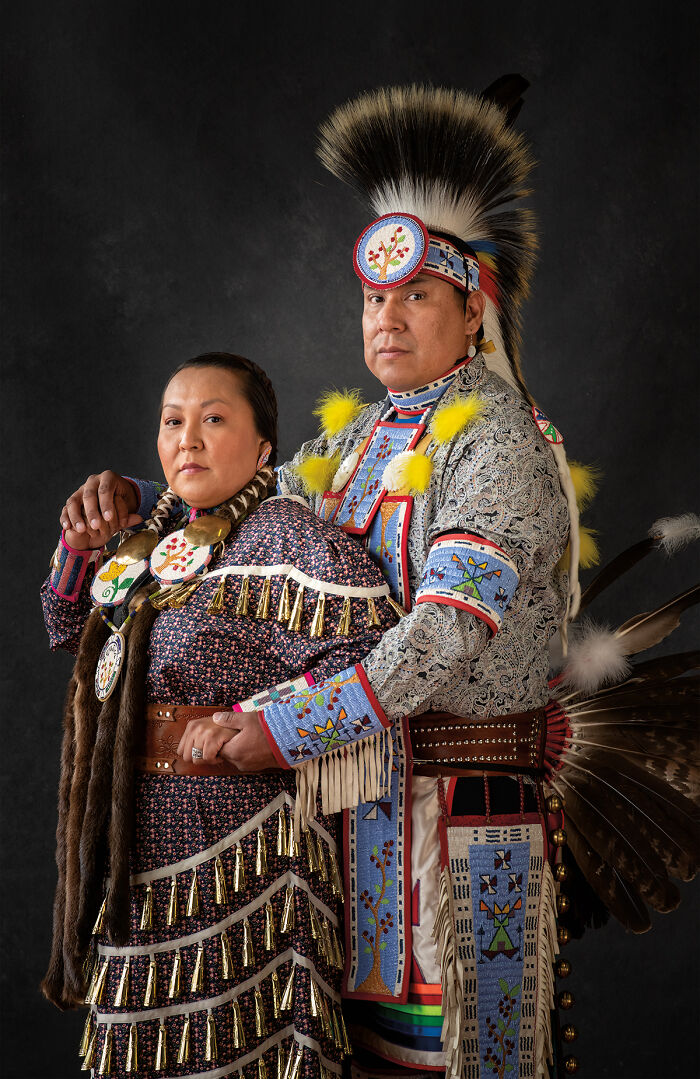 Marlene (To'dikozhi) And Jayme (Wahinkpe Wakan), Navajo And Lakota