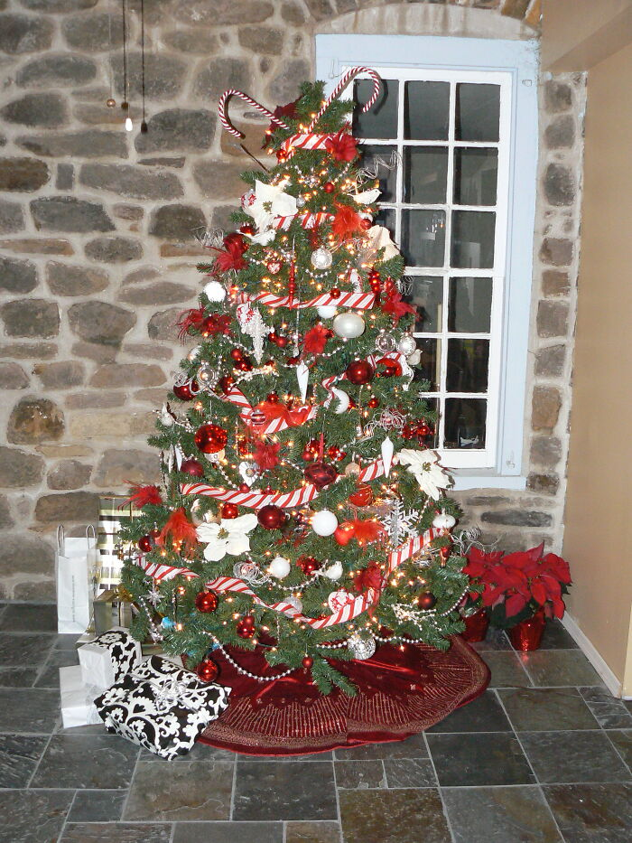 I Know I Keep Adding More Trees - But I Love My Christmas Trees And I Love Showing Them - Peppermint Tree