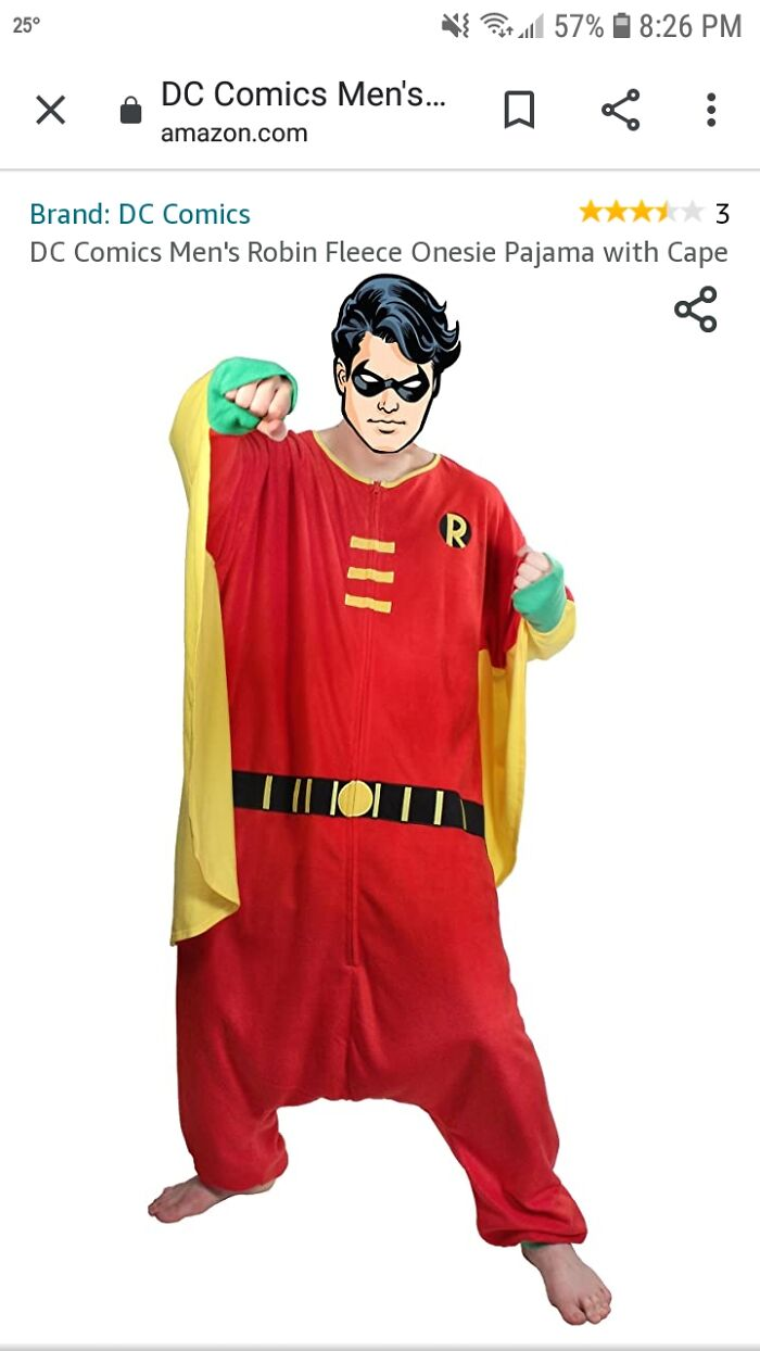 """Robin Adult Pajamas"""